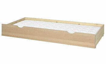 tiroir rangement lit superpos 90x200 crin blanc gain de place. Black Bedroom Furniture Sets. Home Design Ideas