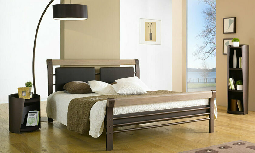 lits adultes design lit en m tal chambre a coucher. Black Bedroom Furniture Sets. Home Design Ideas