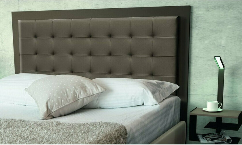 Tête de lit en simili cuir Brio luxe