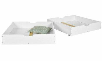 Lot de 2 tiroirs pour lit superposé Iris