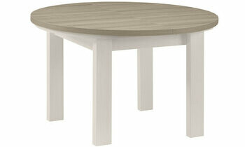 Table Ronde Extensible Molise Fabrication Francaise