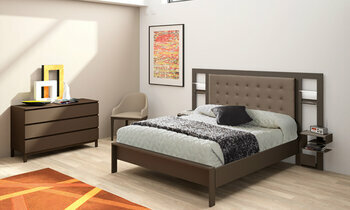 t te de lit brio xxl luxe cuir blanc chambre a coucher. Black Bedroom Furniture Sets. Home Design Ideas