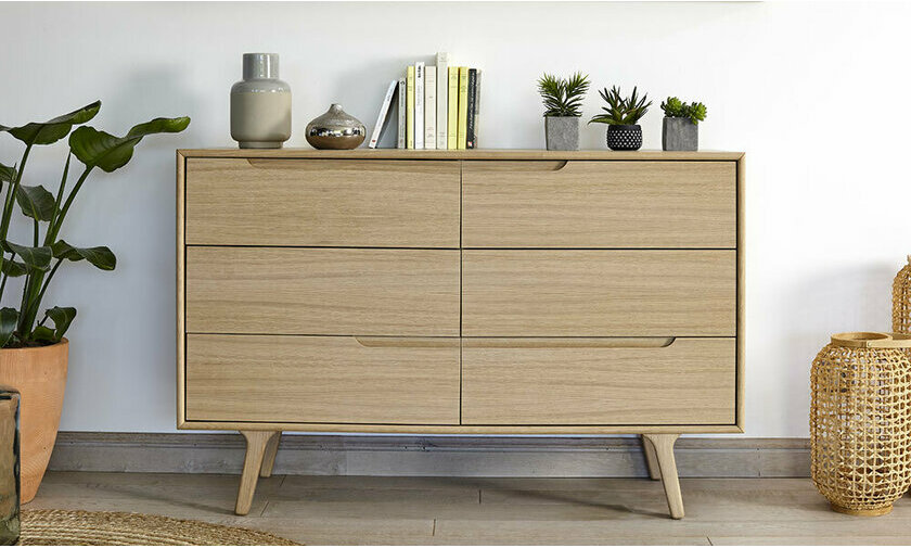Commode en bois Pallas